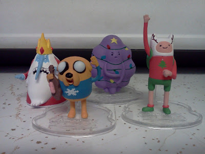 Adventure Time Ugly Sweater Figure Set