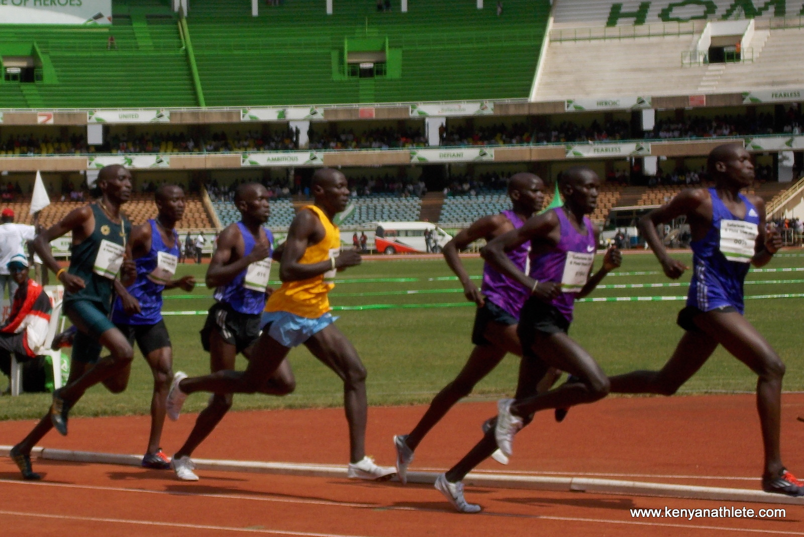 kenyans running The kenyan running mystique can be traced to the 1968 olympics in mexico city three kenyans won gold medals -- naftali temu in the 10,000 meters, amos biwott in the steeplechase and, in the 1,500 meters, kipchoge keino, the most famous and beloved.
