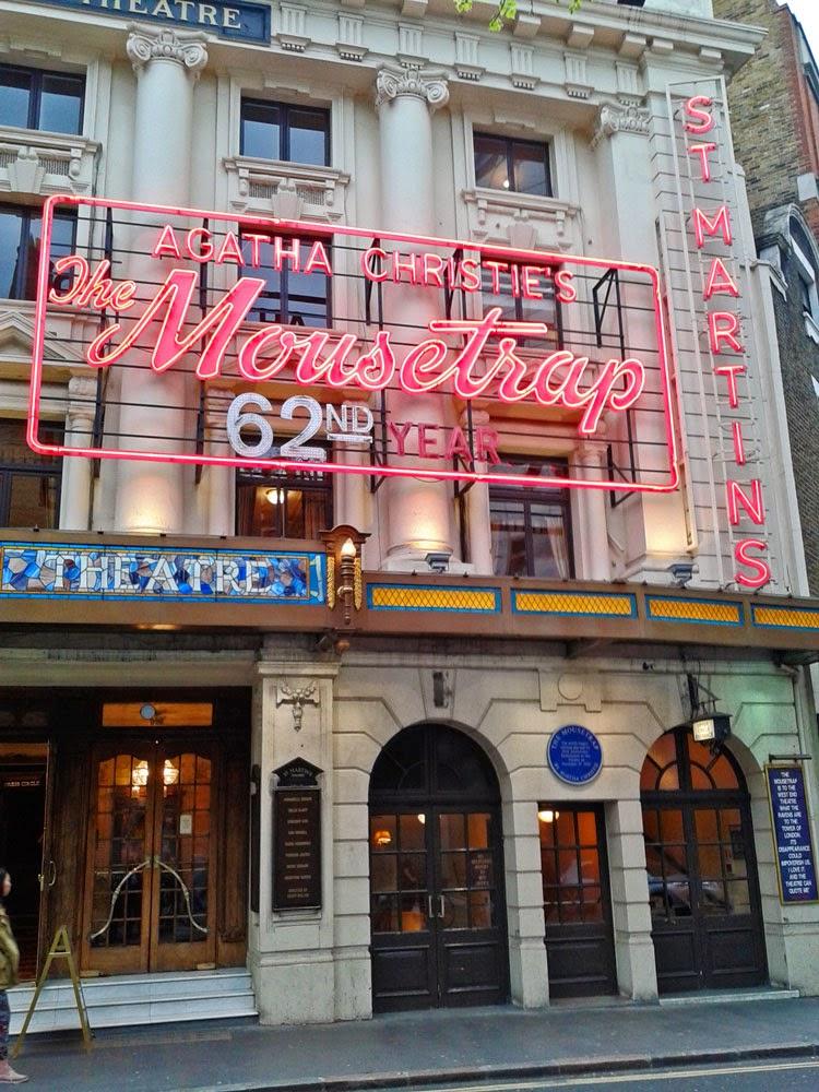 Mousetrap, Agatha Christie, West End, visit London, Britain
