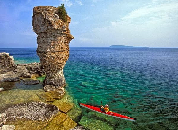 Fathom Five National Marine Park, Ontario, Canada: