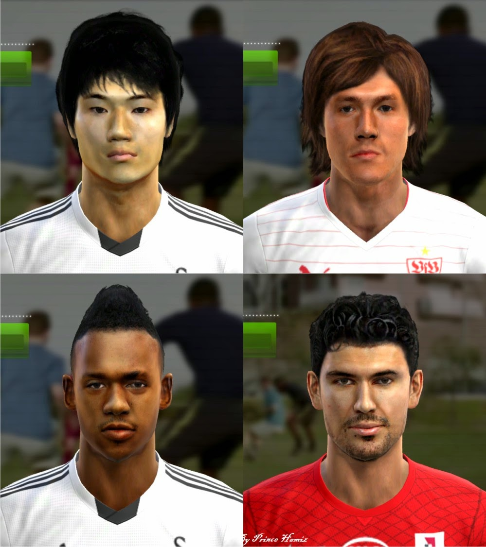 PES 2013 New facepack by Prince