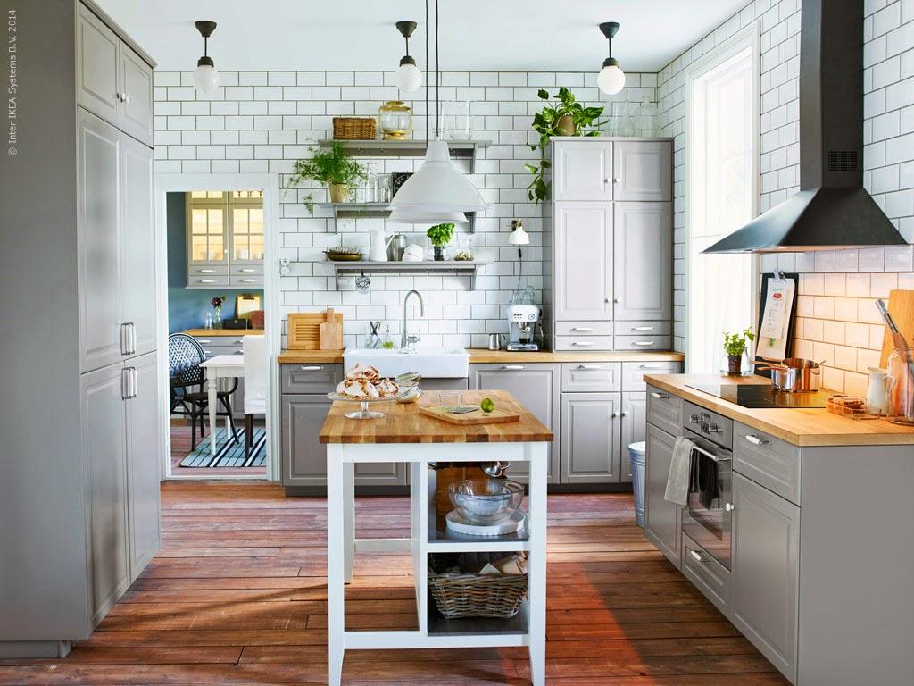 Cozinha cinza arejada e elegante Decoração e Ideias casa e  #9B6530 1024 768