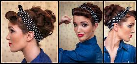 The Freckled Fox Sweetheart Hair Week Tutorial 3 Rockabilly Rosie