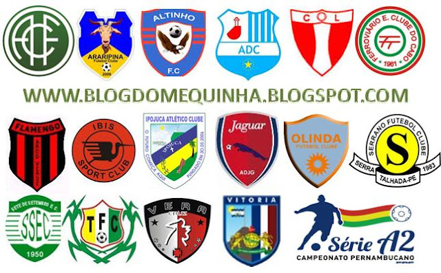 Grupos definidos no Campeonato Pernambucano Série A2!