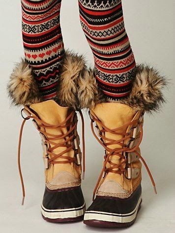 Sorel Womens Joan of Arctic Snow Winter Boots Lace Up Leather Suade Faux Fur New
