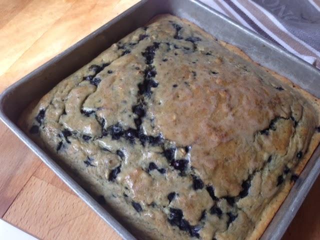 New Nostalgia: Easy Blueberry Pancake Squares