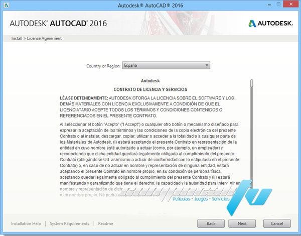Autocad 2016 32 y 64 bits Ingles