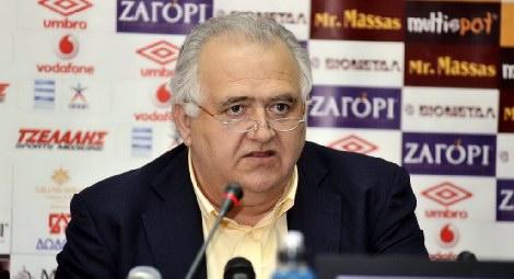 Ο πρόεδρος του ΠΑΣ Γιώργος Χριστοβασίλης