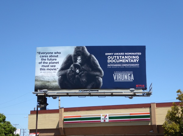 Virunga Emmy 2015 billboard