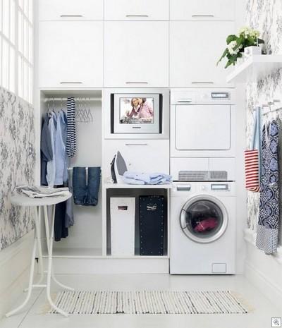 Ideias para organizar lavanderia
