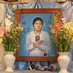 Visiten a Melchorita Saravia