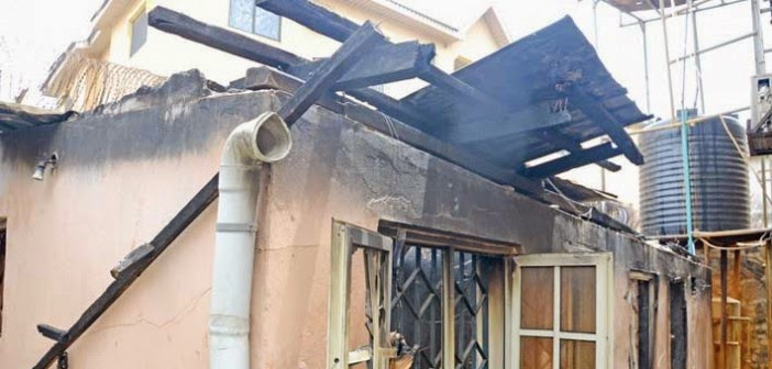 igbo president lagos house fire