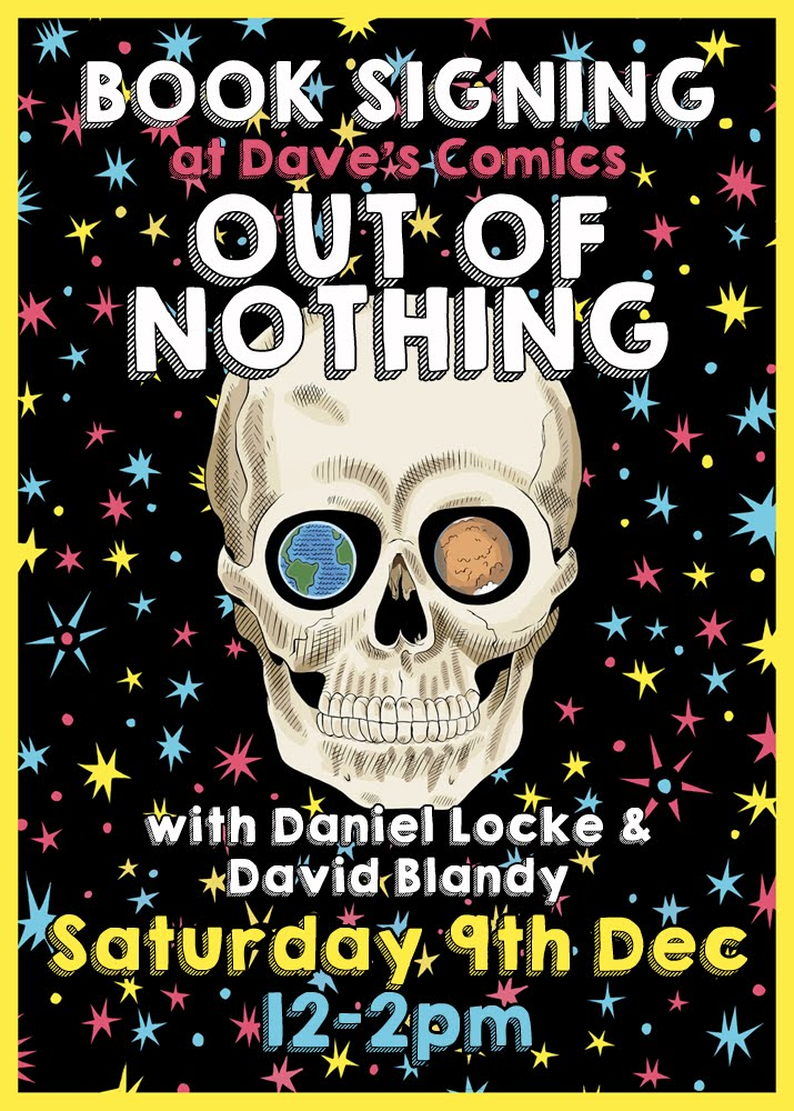 OUT OF NOTHING BOOK SIGNING