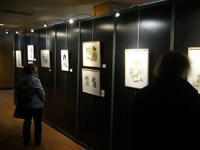 Exposition Wanted! à Quai des Bulles 2012 - Dessins de Maëster