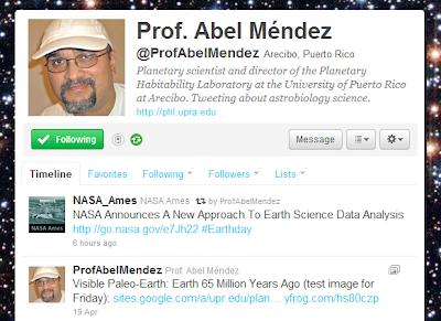 Professor Abel Méndez
