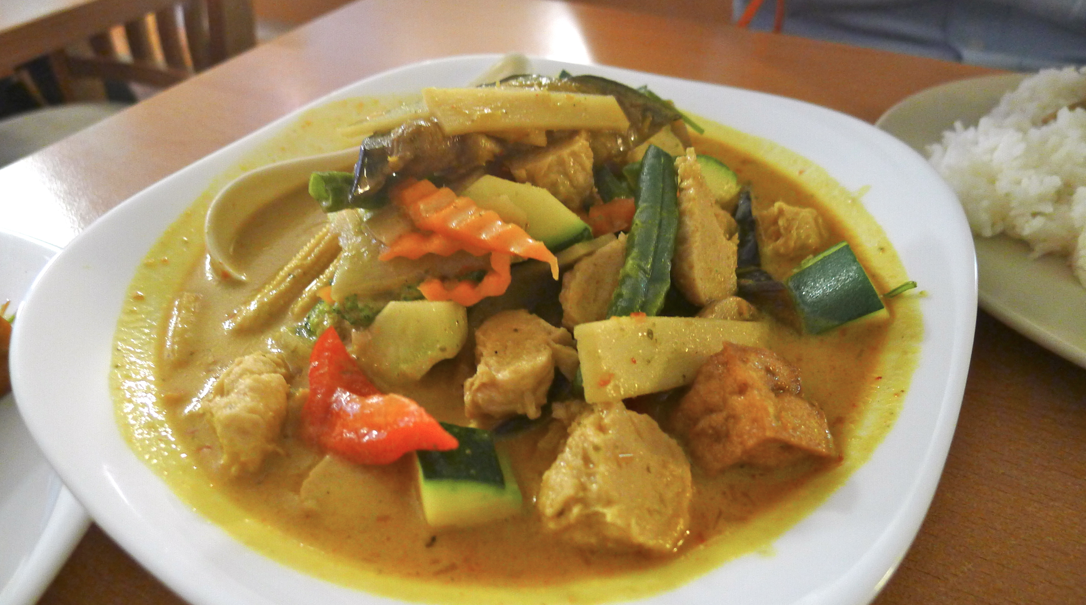 Peace Harmony Vegetarian Thai Restaurant Menu