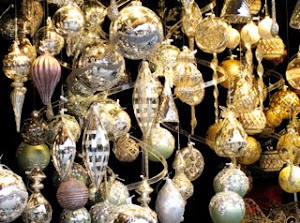 Beautiful baubles in German Christmas market