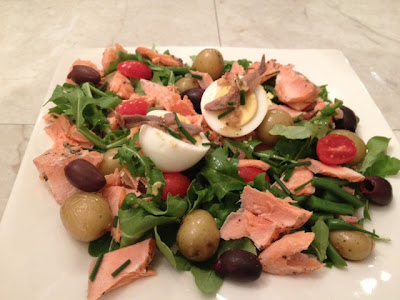 Nicoise Salad With Grilled Salmon And Sherry Vinaigrette Recipe