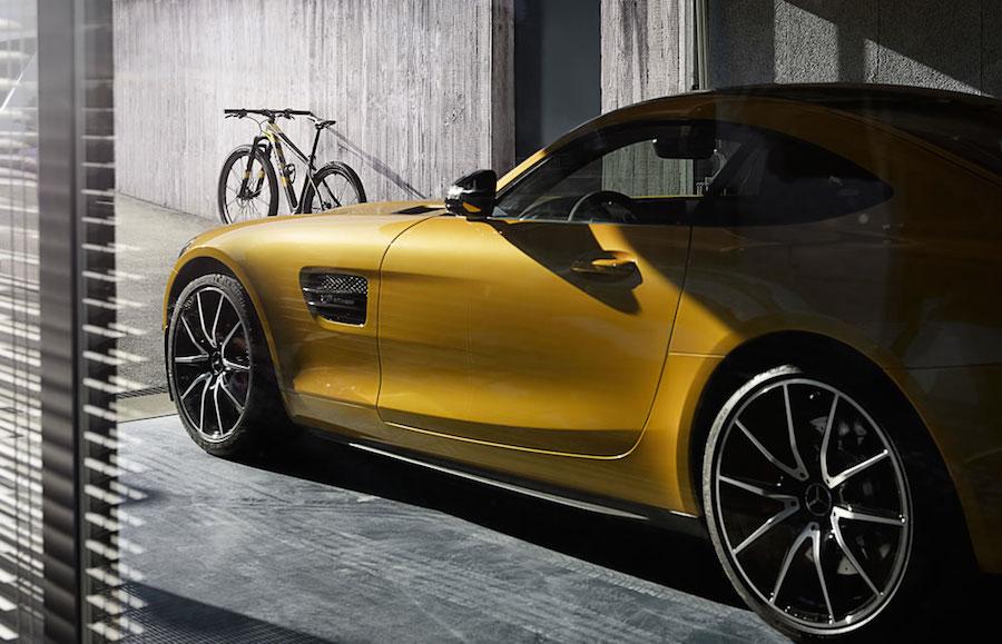 100台限定で130万円!「メルセデス-AMG GT」がモチーフのマウンテンバイクが登場
