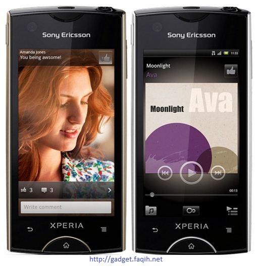Sony Ericsson Xperia Ray Specs