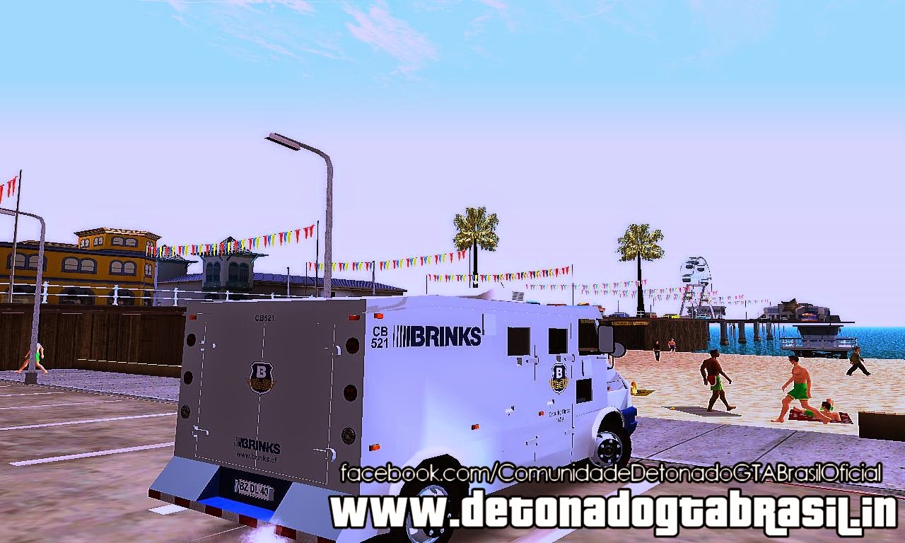 GTA SA - Iveco Daily Brink