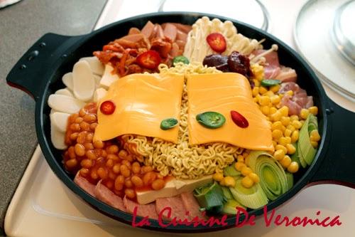 La Cuisine De Veronica,V女廚房,韓國部隊鍋,部隊鍋,부대찌개,Korean Army Stew,Budae Jjigae