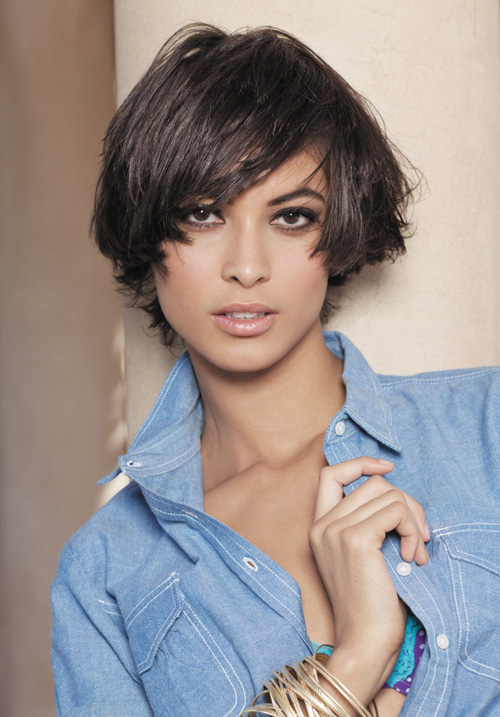 New Short Hairstyle For Thick Haircut ~ Black hairstyle