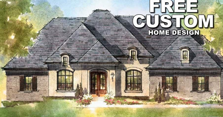 Custom Home - Custom House Plan  House and Home Terms Online Database