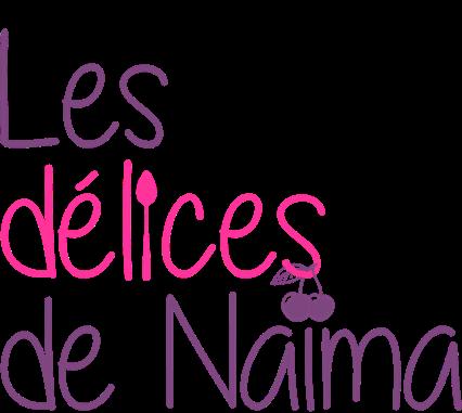 Les délices de Naïma (Nouveau logo dans sa déclinaison carrée)