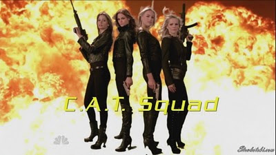 Yvonne Stahovski and the C.A.T. Squad