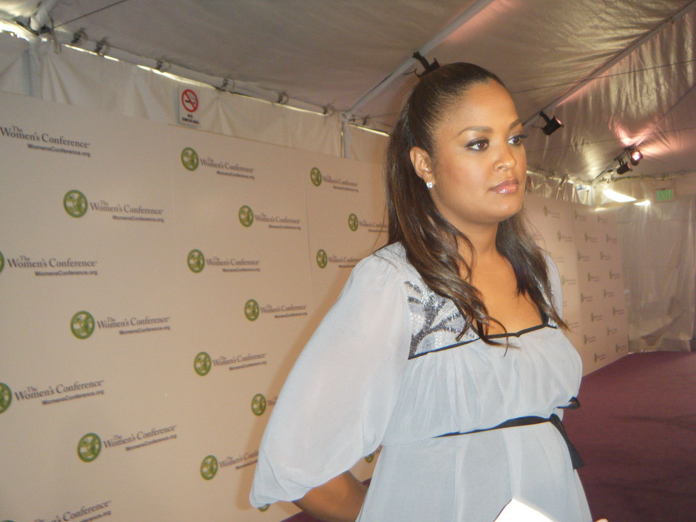 laila ali pregnant pics%252B3 ... advertising shoot for Palmer's Cocoa Butter Formula pregnancy products.