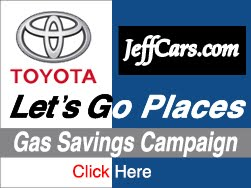 Toyota And JeffCars.com Gas Savings Road Trip Campaign