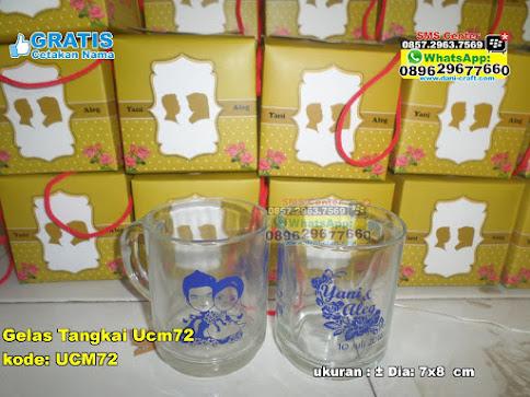 Gelas Tangkai Ucm72 unik