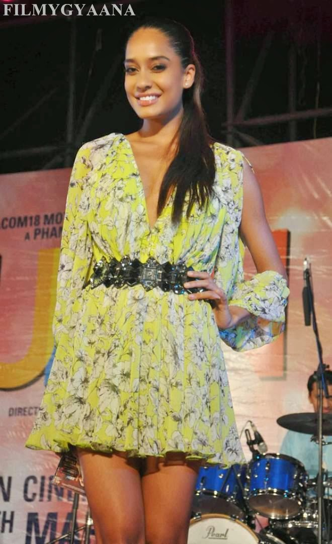 Lisa Haydon Latest Hot At Queens Music Launch Photos