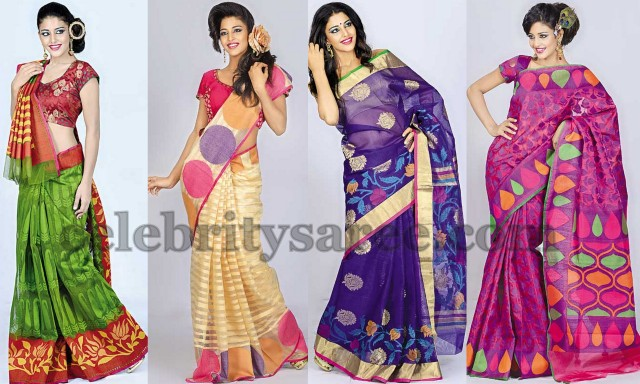 Latest Fancy Sarees from Brisah