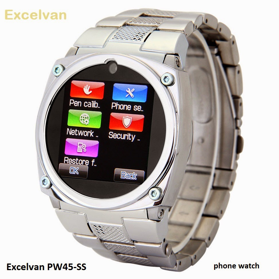 Excelvan PW45-SS phone watch