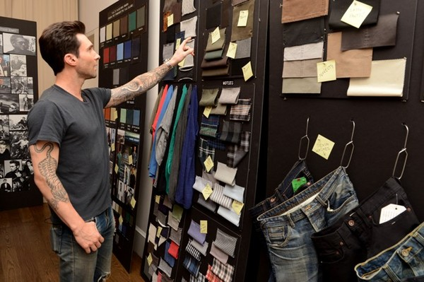 adam levine working on 22 by adam levine kmart collection line