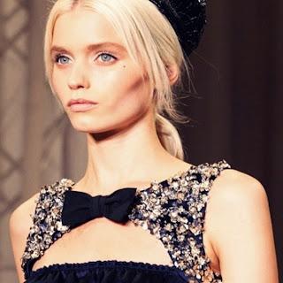 high fashion runway models