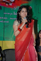 Singer Sunitha transparent saree navel