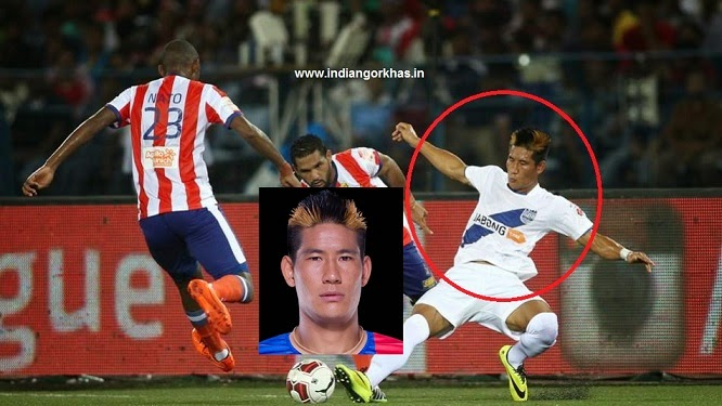 Nadong Bhutia from Kalimpong in ISL (Indian Super League)