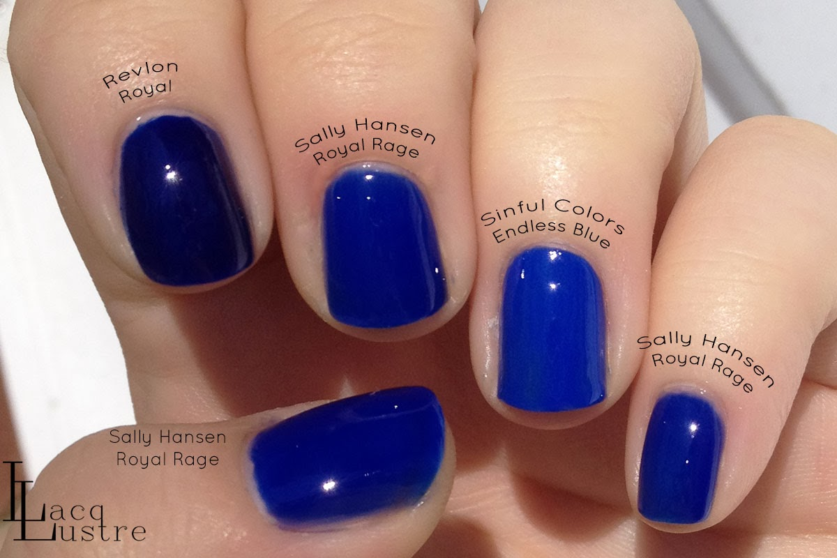 Sally hansen royal rage vs revlon royal vs sinful endless blue 1 jpg