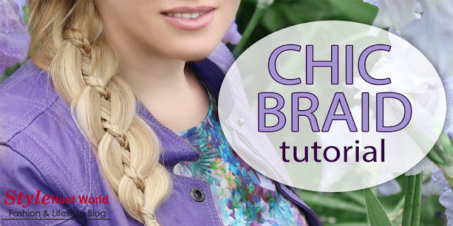 Beautiful Women Hairstyle - Chic Braid Tutorial, Step By Step
