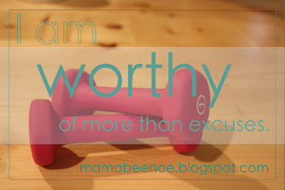 I am worthy of more than excuses