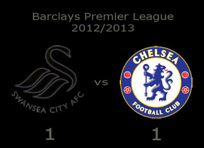 Swansea vs Chelsea Barclays Premier League 2012