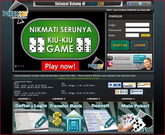 Poker online terpercaya bni