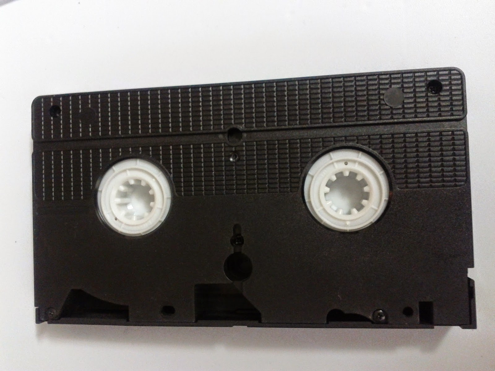 Stock photo: Old dusty VHS tape