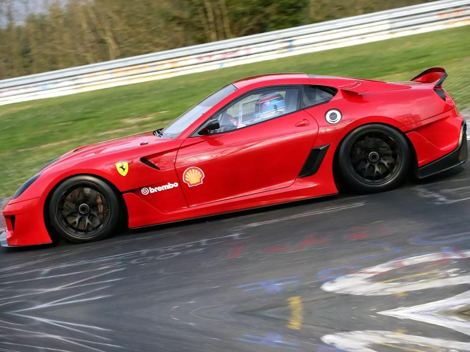 Hình ảnh siêu xe Ferrari 599XX 2010 & nội ngoại thất