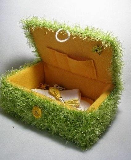 Cajas de cart n recicladas decoradas paso a paso lodijoella - Cajas carton decoradas ...