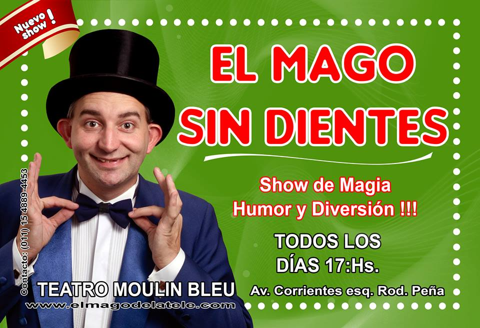 El mejor plan para las vacaciones de invierno el mago sin for Diario el show del espectaculo