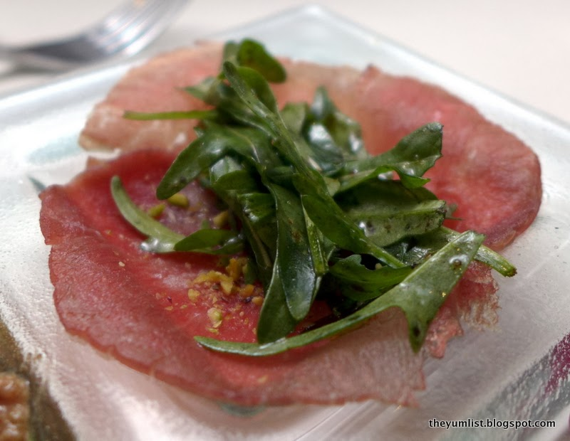 carpaccio salad with parmesan basil and walnuts filet mignon carpaccio ...